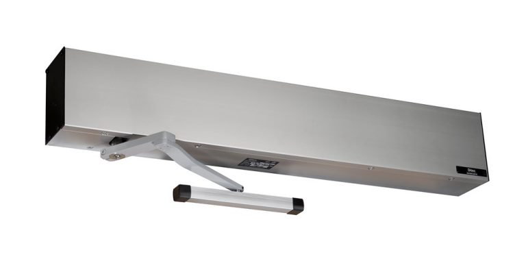 The primary role of the door closer is to shut the door once opened, but it also serves to keep the door shut in case of a fire and to keep the weather outside whether it's the wind, rain or heat.